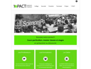 1-pact.fr screenshot