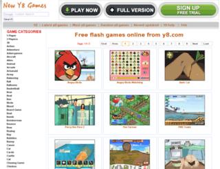 1-player.newy8games.com screenshot