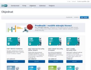 1.eset.cz screenshot
