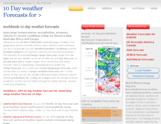 10-day-forecast.com screenshot
