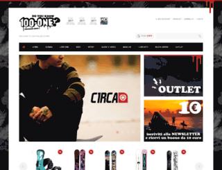 100-onestore.com screenshot