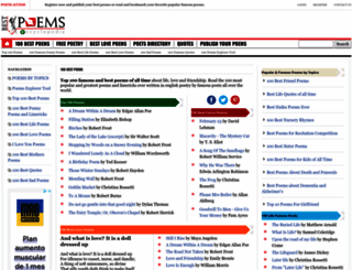 100.best-poems.net screenshot