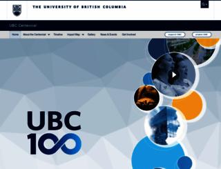 100.ubc.ca screenshot