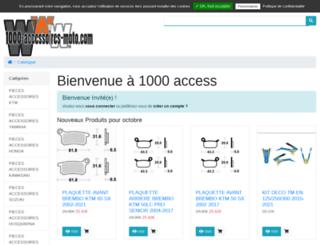1000-accessoires-moto.com screenshot
