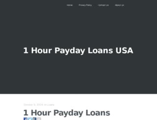 1000.dollar.payday.loans.1hourpaydayloans.us screenshot