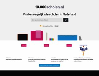 10000scholen.nl screenshot