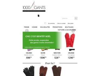1000gants.com screenshot