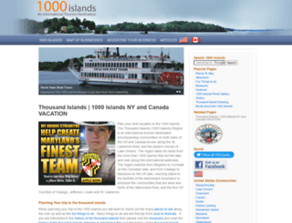 1000islands.com screenshot