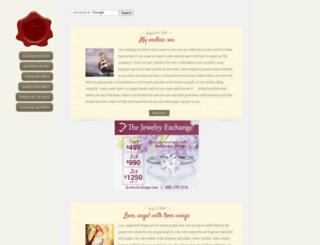 1000loveletters.com screenshot
