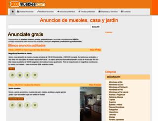 1000muebles.com screenshot