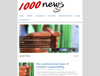1000news.net screenshot