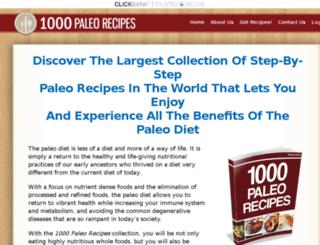 1000paleorecipes.com screenshot