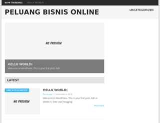 1000peluangbisnisonline.com screenshot