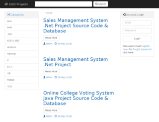 1000projects.com screenshot