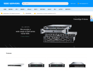1000servers.com screenshot