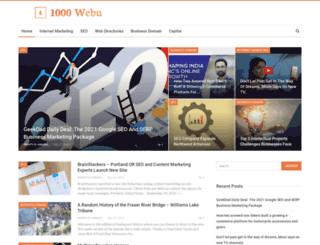 1000webu.com screenshot