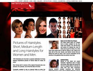 1001-hairstyles.com screenshot