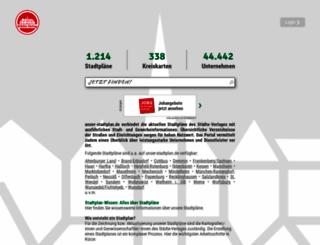 1001-stadtplan.de screenshot
