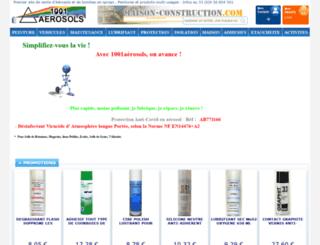 1001aerosols.fr screenshot