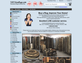 1001arearugs.com screenshot