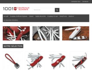 1001couteaux-suisses.com screenshot