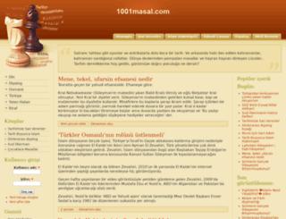 1001masal.com screenshot