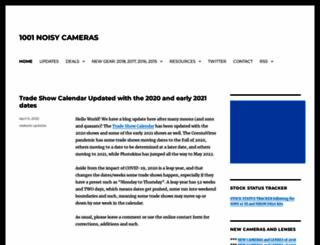 1001noisycameras.com screenshot