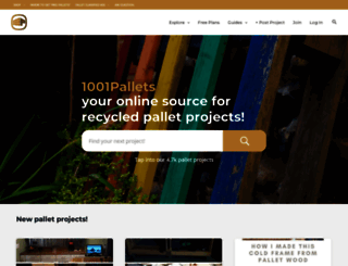 1001pallets.com screenshot