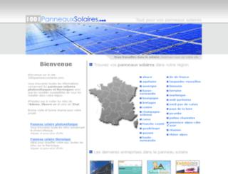 1001panneauxsolaires.com screenshot