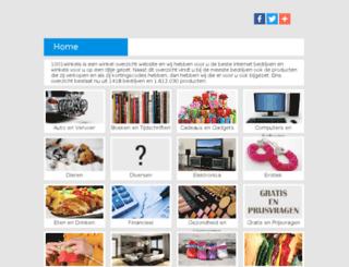 1001winkels.nl screenshot