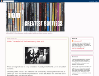 100greatestbootlegs.blogspot.it screenshot