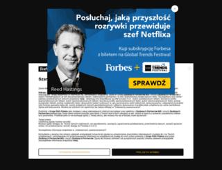 100najcenniejszychgwiazd.forbes.pl screenshot