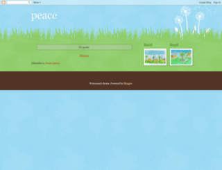 100peace.blogspot.com screenshot