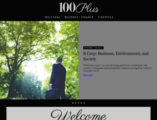 100plusyears.com screenshot