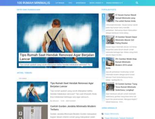 100rumahminimalis.com screenshot