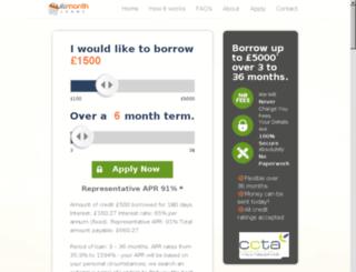 100textloans.co.uk screenshot