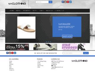 101clothing.com screenshot
