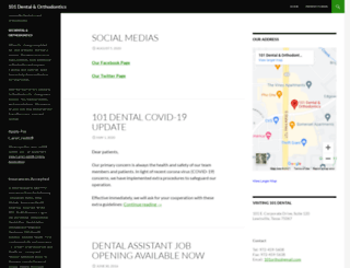 101dental.com screenshot