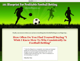 101footballblueprint.com screenshot