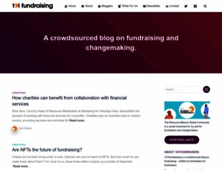 101fundraising.org screenshot