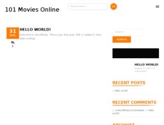 101moviesonline.com screenshot