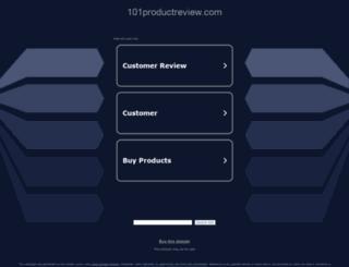 101productreview.com screenshot