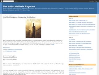 101st-galleria-regulars.blogspot.com screenshot