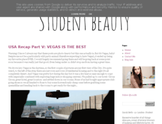 101studentbeauty.blogspot.fr screenshot