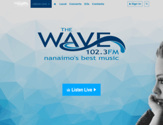 1023thewave.com screenshot