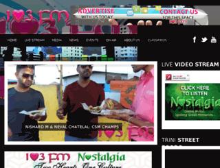 103fm.net screenshot