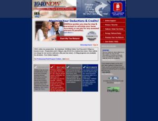 1040now.com screenshot