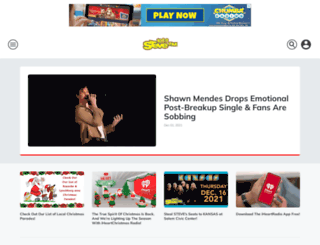 1061stevefm.iheart.com screenshot