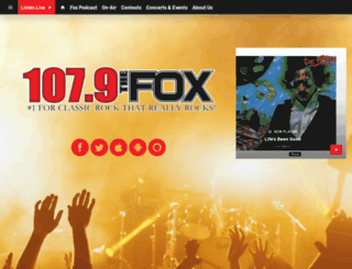 1079thefox.com screenshot