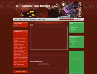 107campusradiobacolod.blogspot.com screenshot